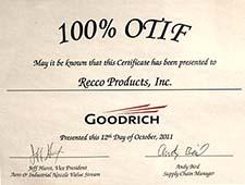 Recco Filters - Goodrich 100% OTIF