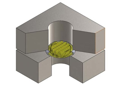 Pleated Filter with Crimped Flange | Recco Filters
