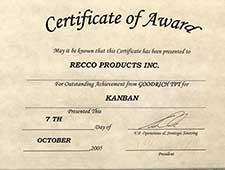 Recco Filters - Kanban Award