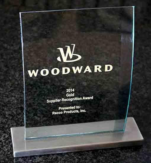 Recco Filters - Supplier Recognition Award